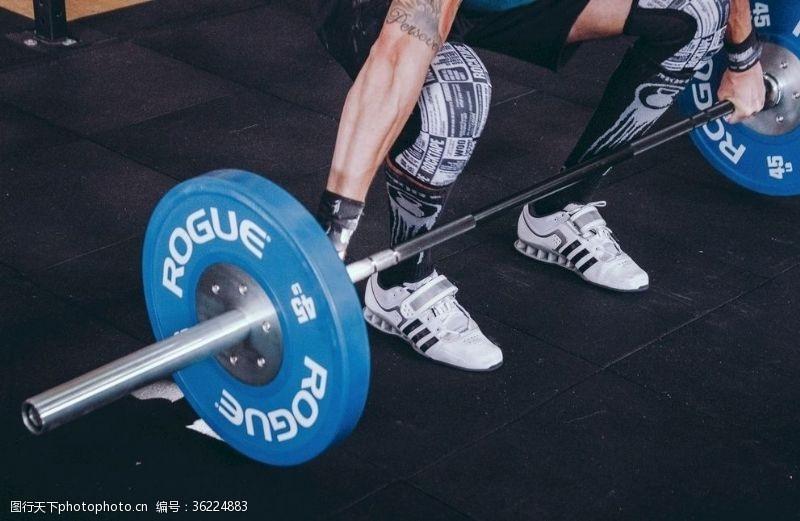 sport健身健美硬拉
