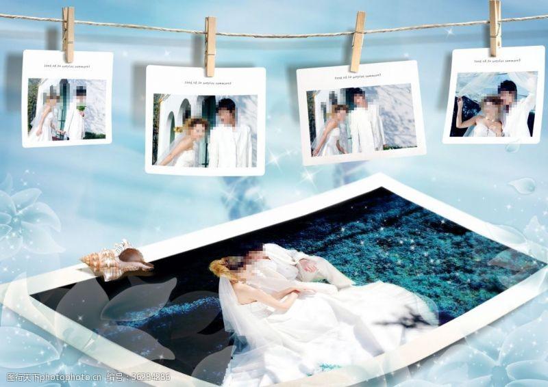 婚纱摄影宣传婚纱摄影海报