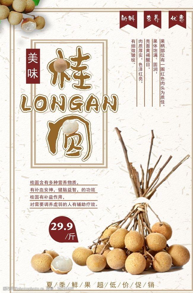 中国饮食美食海报