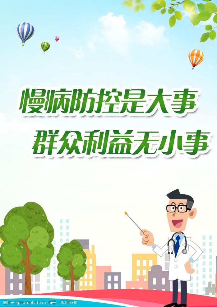 疾病常识防控海报