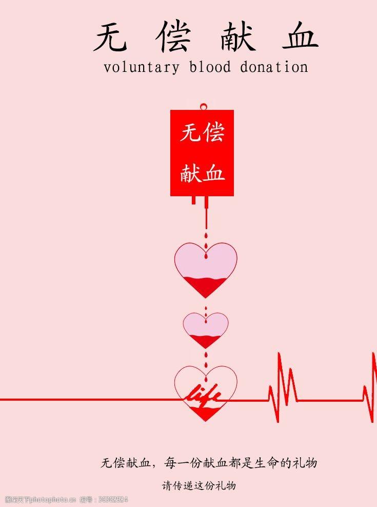 life献血海报