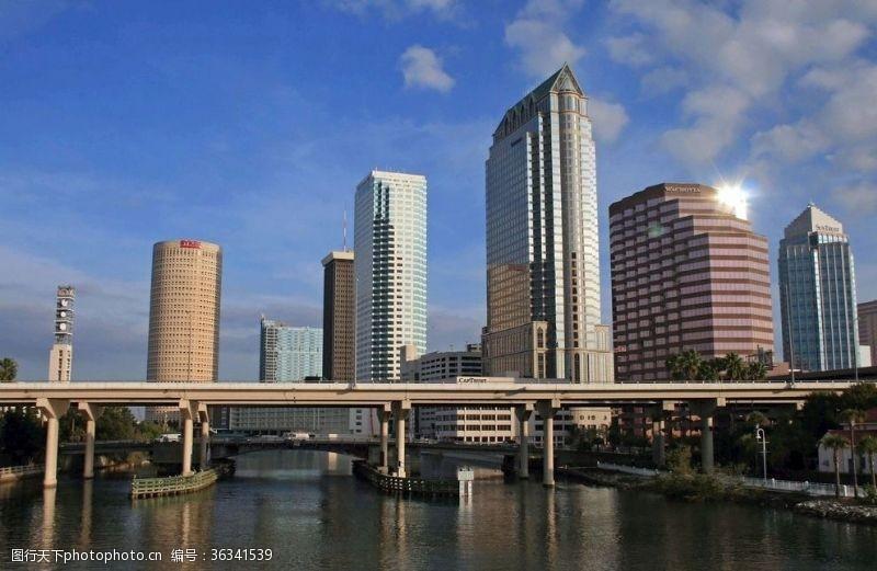 高建筑城市天际线