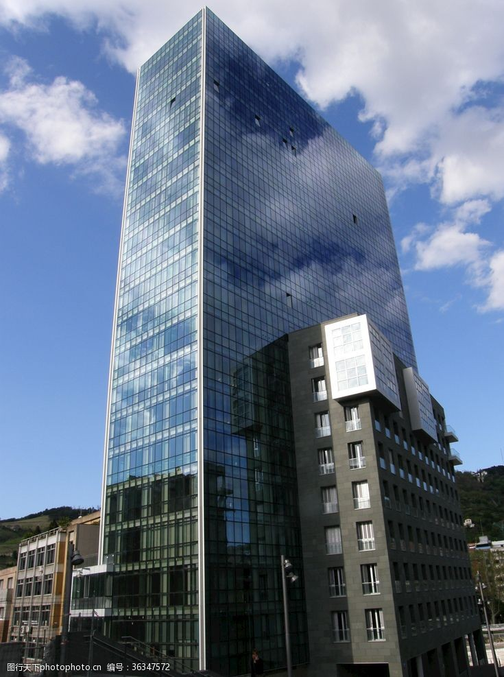 高建筑毕尔巴鄂摩天大楼