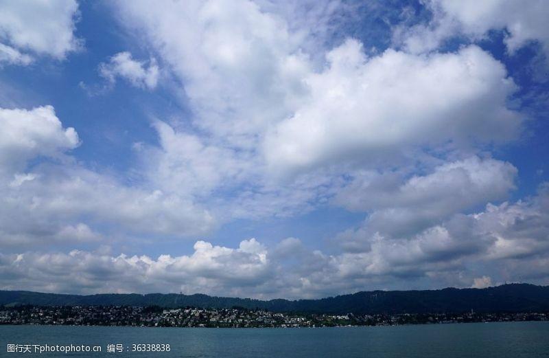 瑞士风光瑞士苏黎世风光摄影
