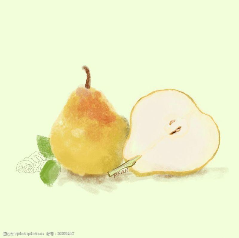 爱上水果梨不开的爱