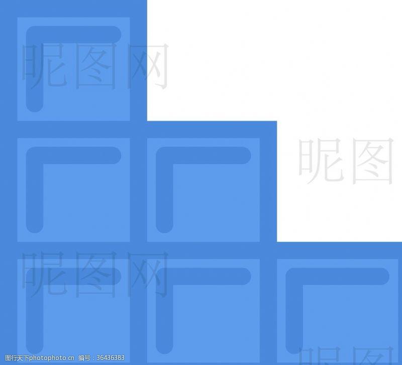 人字梯起墙UI标识标志