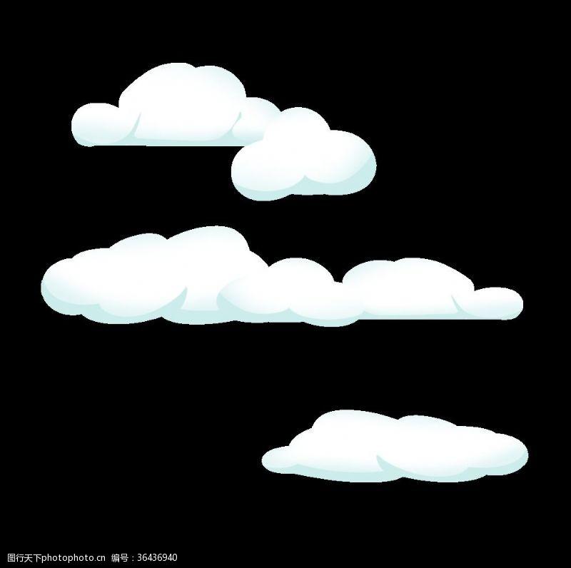 云朵装饰云朵