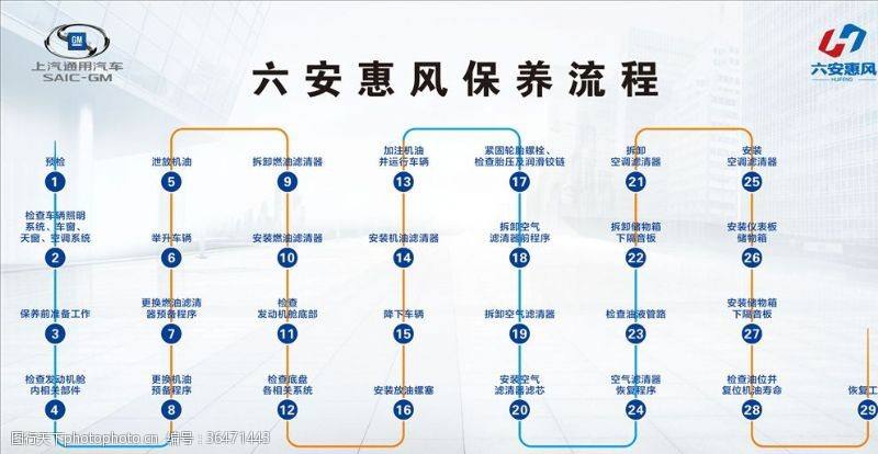 双十一车展保养流程