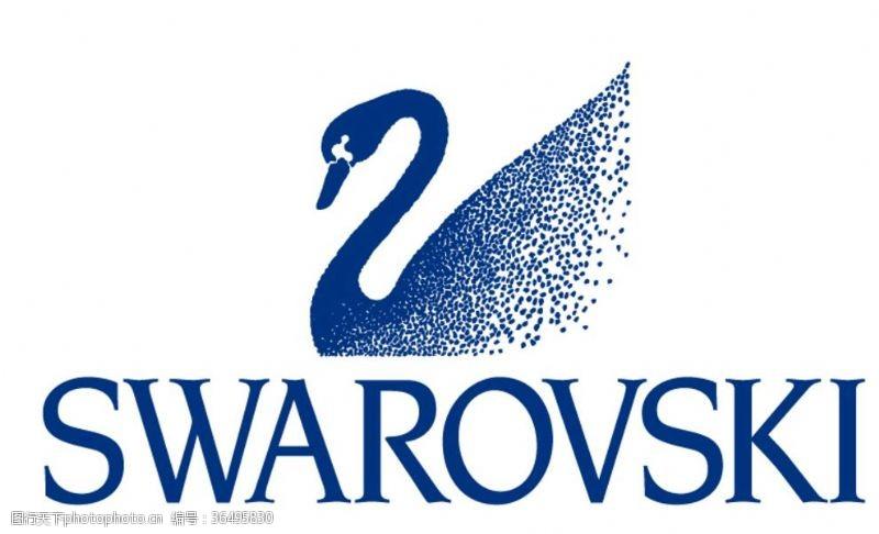 钻石切割施华洛世奇标志logo