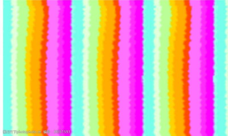 彩虹条海报