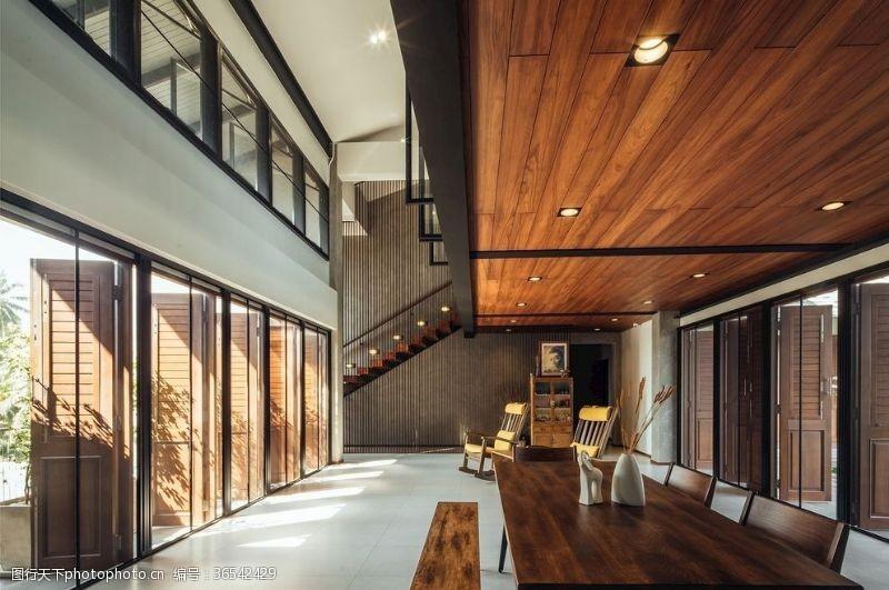 木质家具现代家居摄影