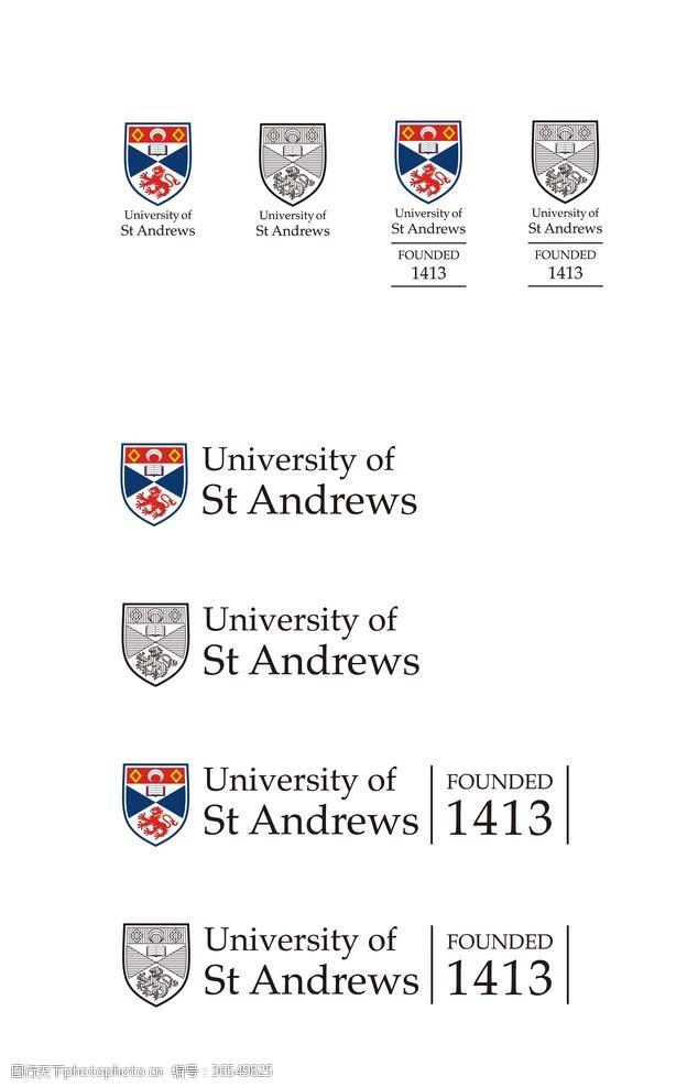 英国圣安德鲁斯大学校徽新版