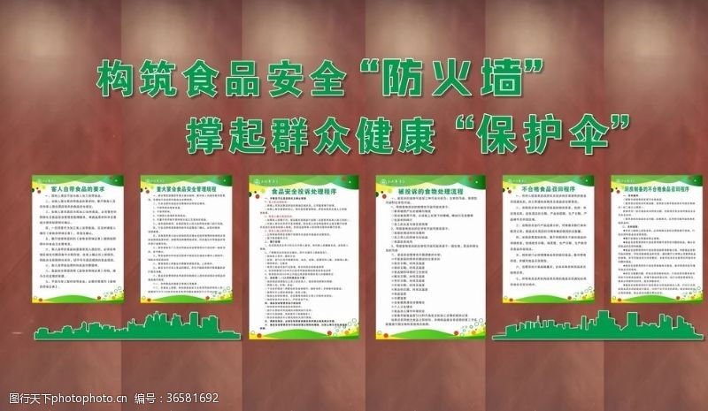 餐饮文化饮食文化食品安全文化墙