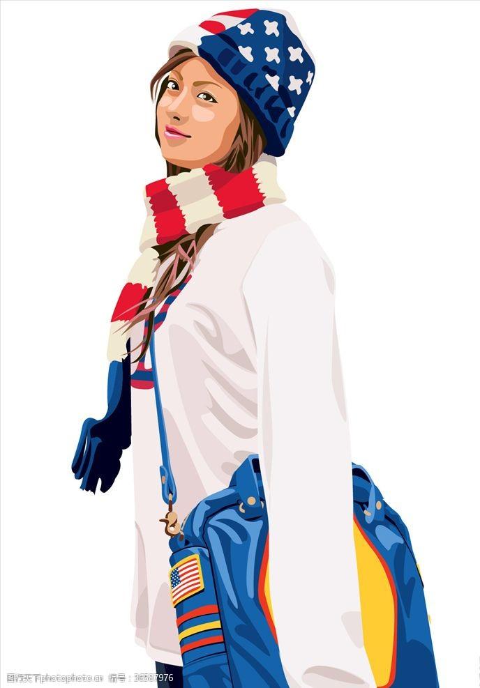 外国女人时装女人