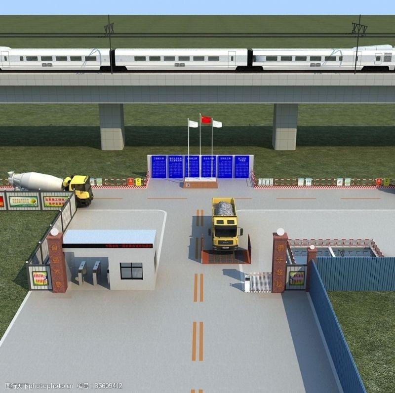大门工程施工标准建设大门工程