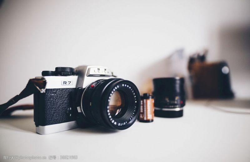 莱卡相机背景