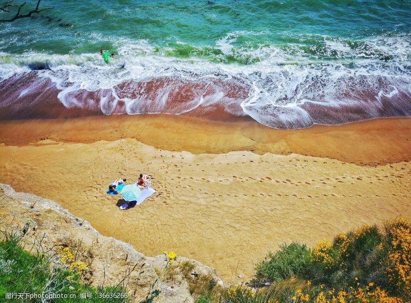 天堂岛海滩