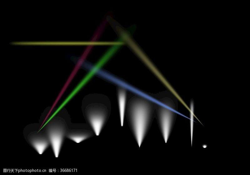 地灯灯光效果LED射灯