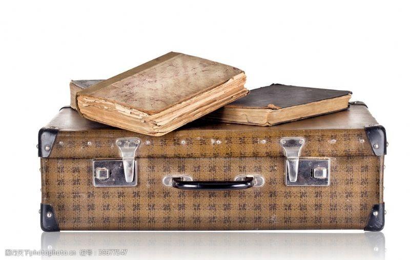 行李箱轮子复古行李箱