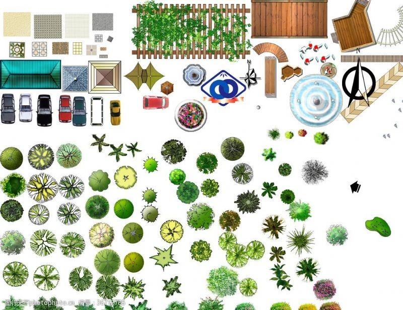 景观规划平面彩图