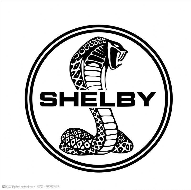 福特野马眼镜蛇logo