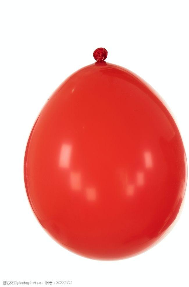 红球红色气球