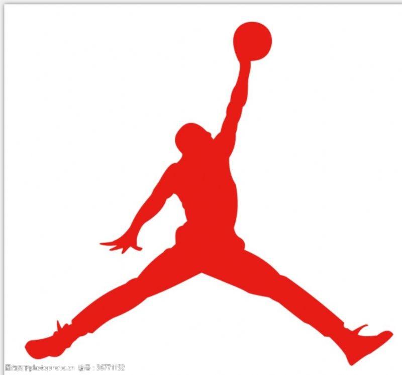 亚克力字乔丹扣篮图雕刻镂空篮球之神