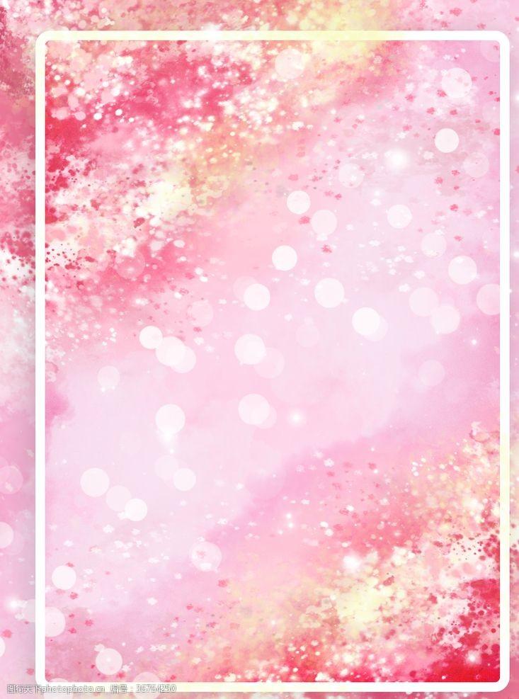 樱花图案樱花背景