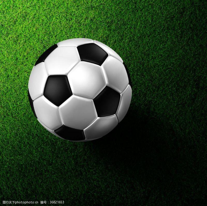 足球场草坪足球