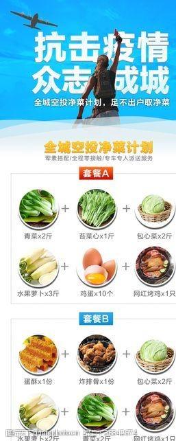 吃鸡主题社区电商生蔬菜配送页面