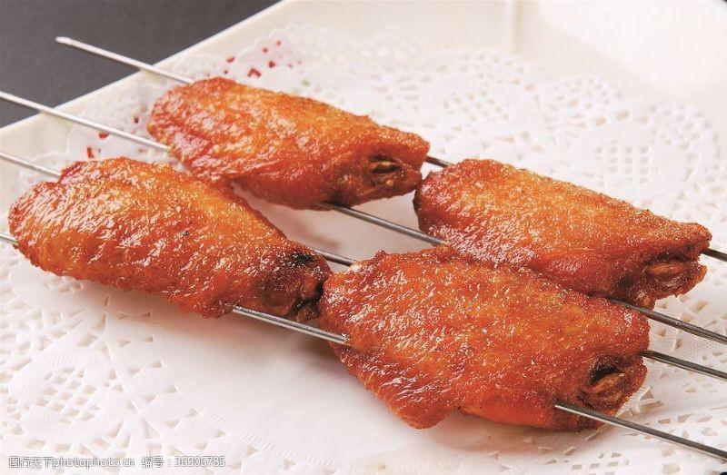 蜜汁鸡翅中