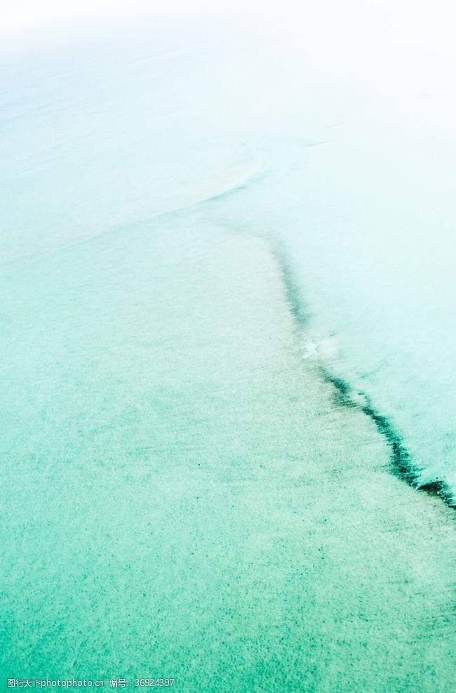 水面背景绿色水波