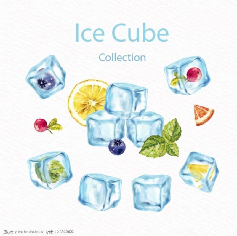 冰冰水果冰块