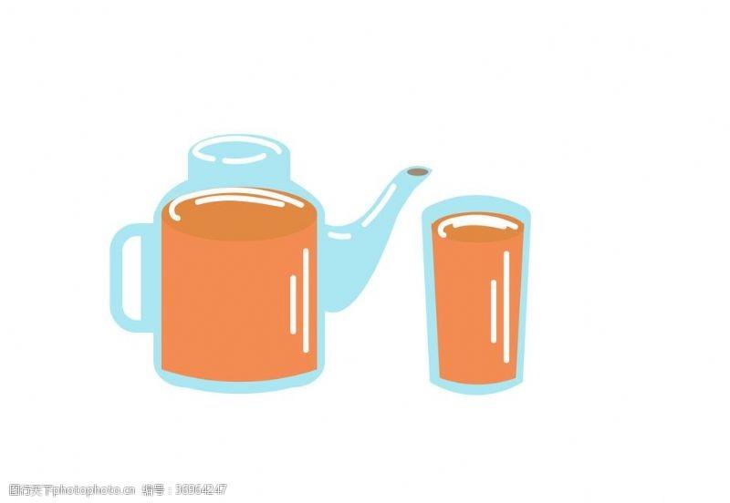 茶壶素材下午茶茶壶