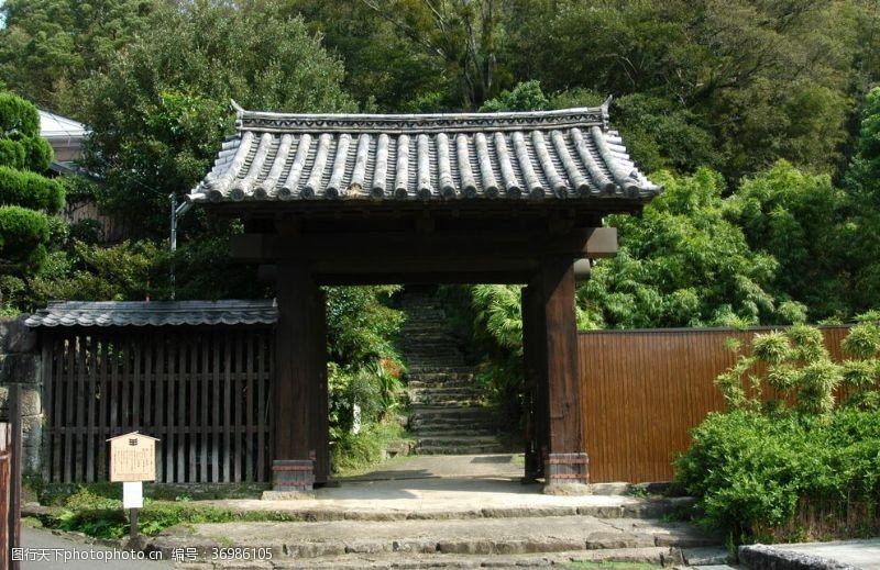 日本仿古大门