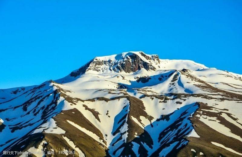 瑞士风光雪山自然瑞士欧洲高山