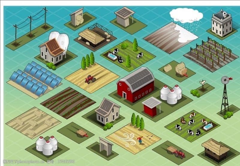 小矮楼农业场景图
