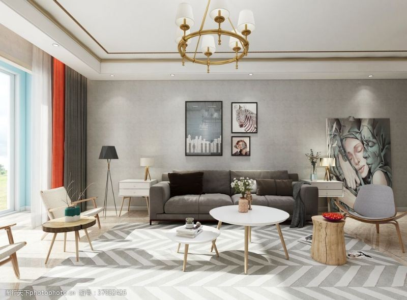 板式家居客厅