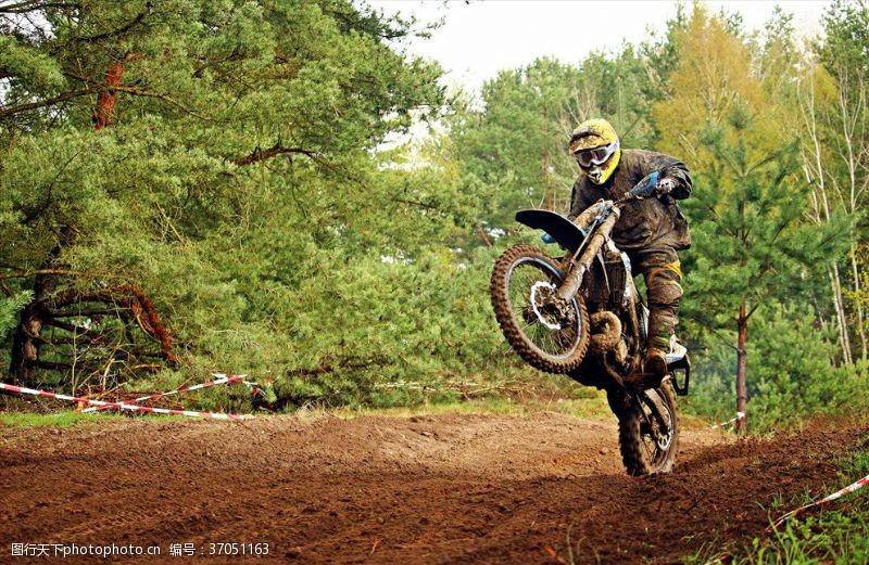 越野比赛越野摩托车