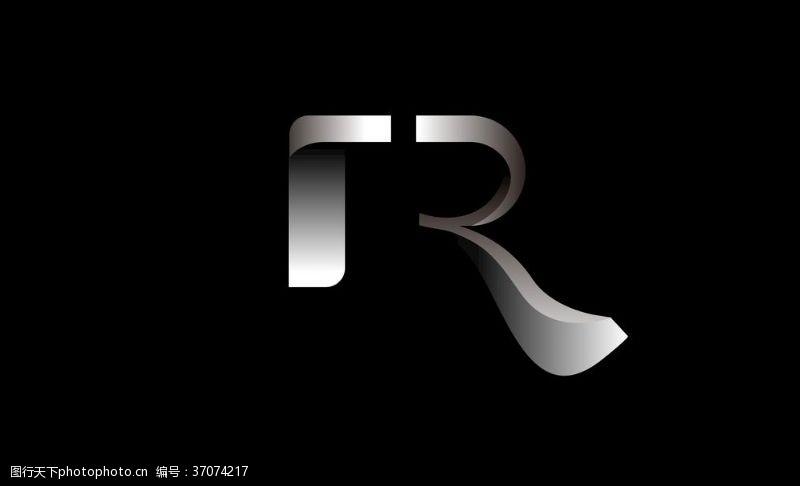 药品及保健品rR字母现代简约赛车