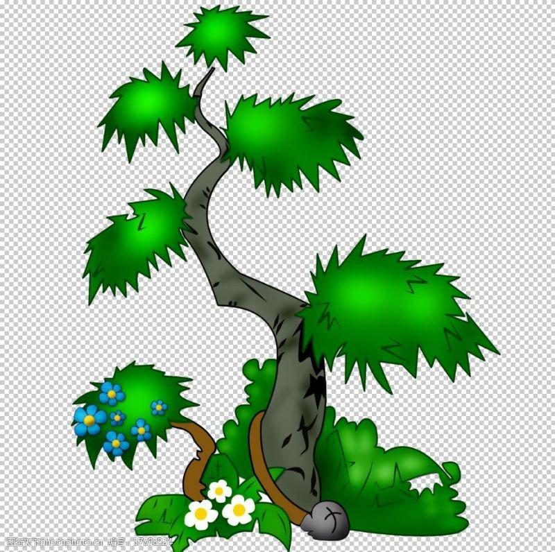 古典花纹边框绿色相框