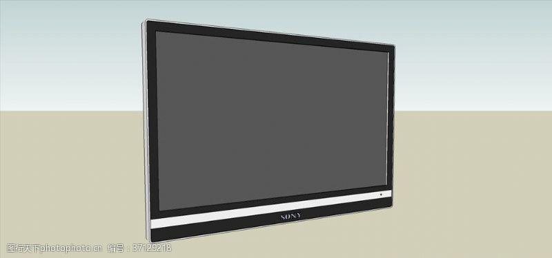 电器模型电视模型