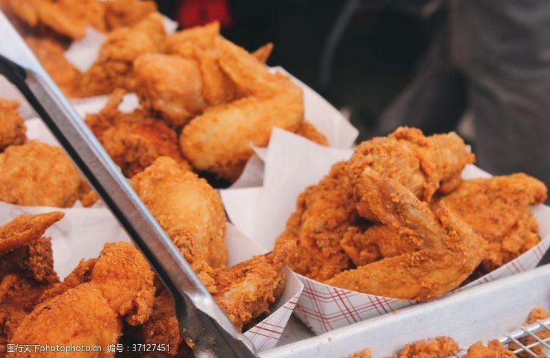 鸡翅膀炸鸡