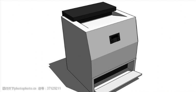 电器模型打印机复印机模型