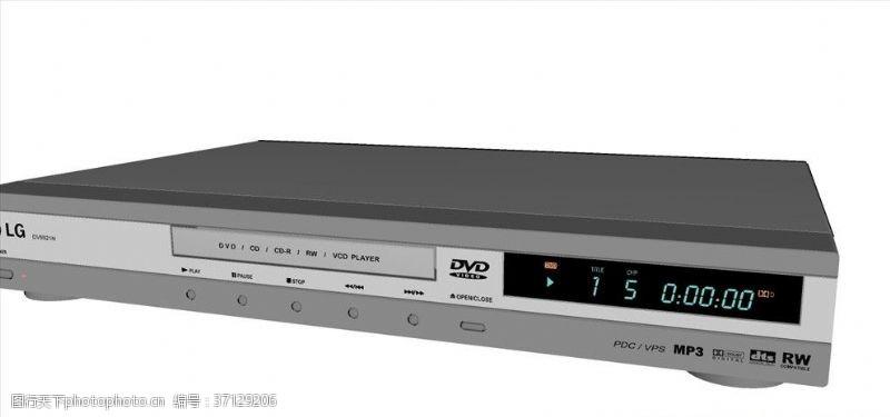 电器模型DVD播放器
