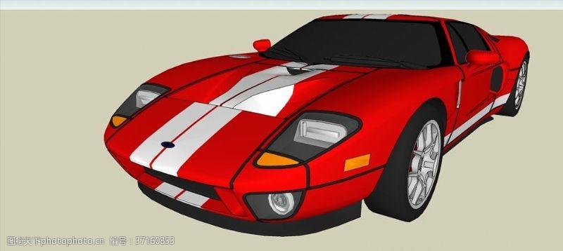 gt福特GT车模型