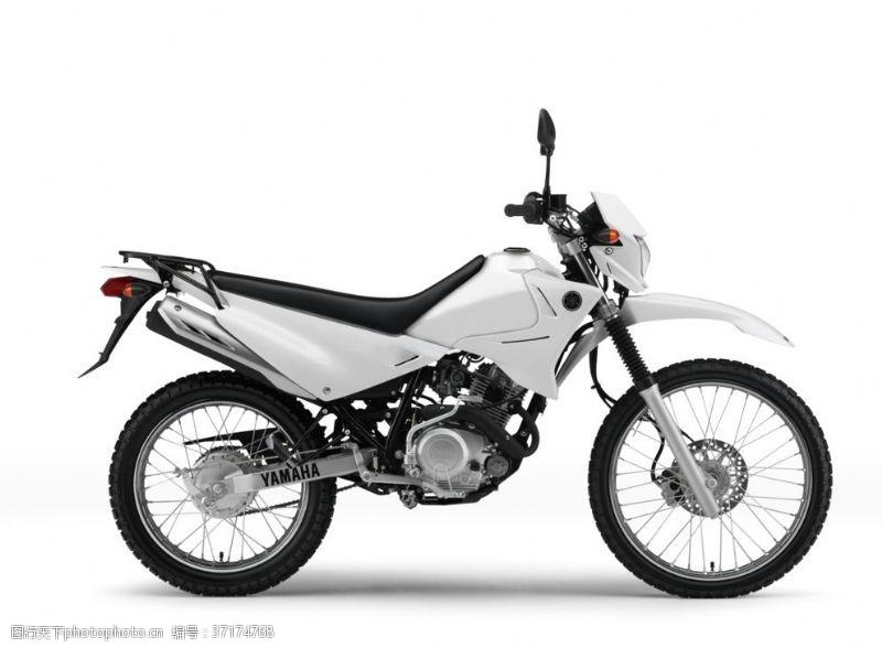 越野比赛摩托车