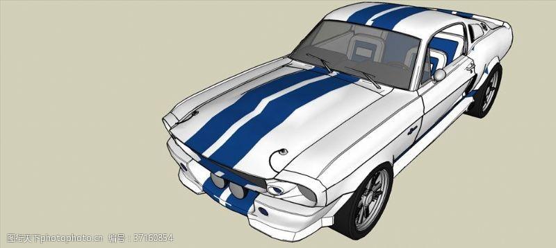gt福特GT-500C车模型