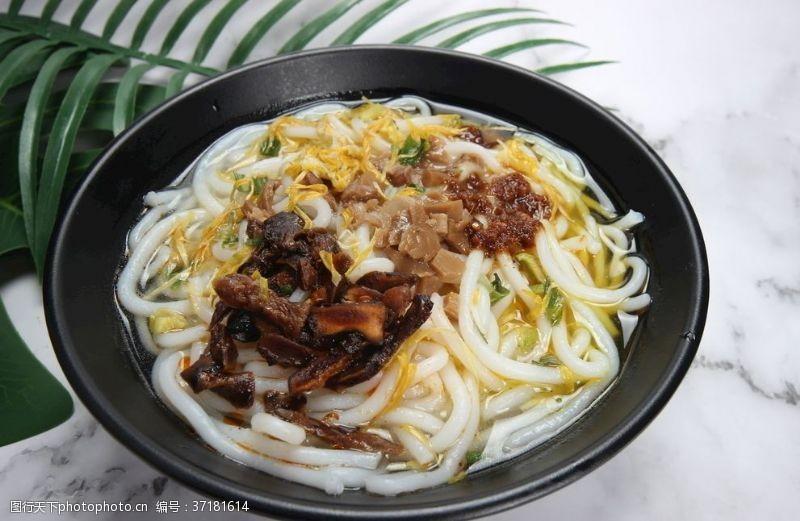 云南美食菊花米线