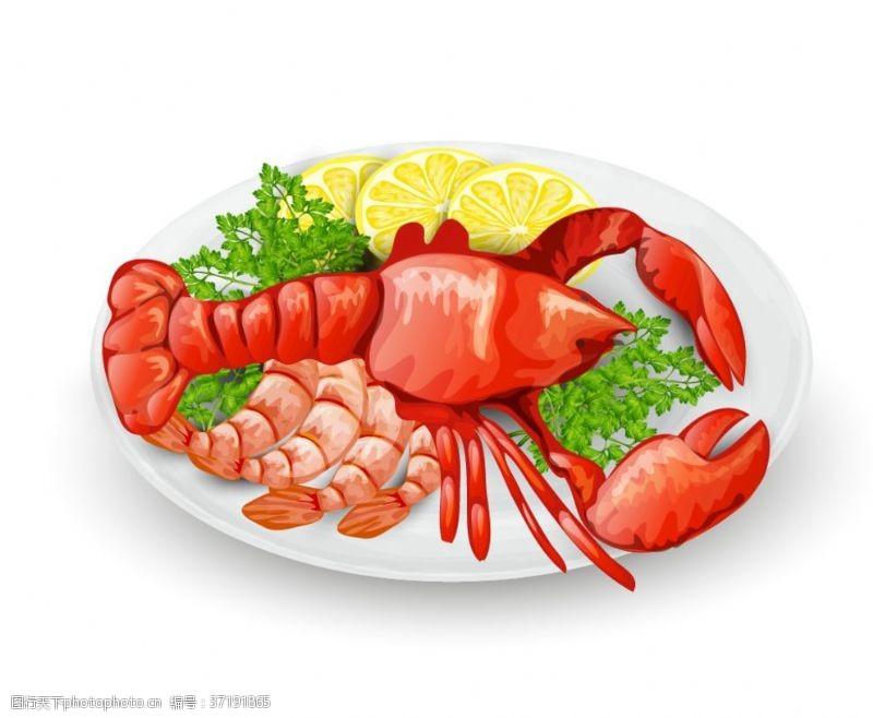 海鲜大餐素材